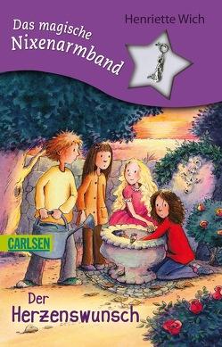 Das magische Nixenarmband 4: Der Herzenswunsch von Harvey,  Franziska, Wich,  Henriette