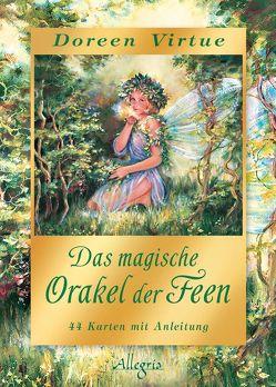 Das magische Orakel der Feen – limitierte GOLD Edition von Rohr,  Wulfing von, Virtue,  Doreen