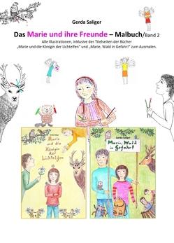 """Das """"Marie und ihre Freunde"""" Malbuch 2 von Saliger,  Gerda"""