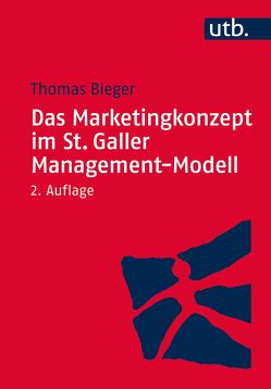 Das Marketingkonzept im St. Galler Management-Modell von Bieger,  Thomas