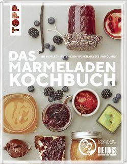 """Das Marmeladen-Kochbuch. Mit den leckersten Konfitüren, Gelees und Curds der Blogger von """"Die Jungs kochen und backen"""" von Die Jungs kochen und backen,  Sascha & Torsten Wett von"""