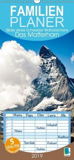 Das Matterhorn: Bilder eines Schweizer Wahrzeichens – Familienplaner hoch (Wandkalender 2019 , 21 cm x 45 cm, hoch) von CALVENDO