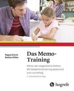 Das Memo–Training von Everts,  Regula, Ritter,  Barbara