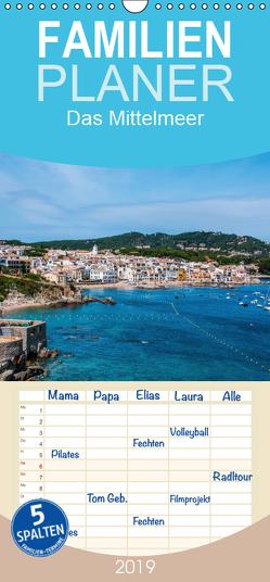 Das Mittelmeer – Familienplaner hoch (Wandkalender 2019 , 21 cm x 45 cm, hoch) von Bangert,  Mark