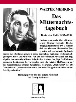 Das Mitternachtstagebuch von Mehring,  Walter, Schirmers,  Georg
