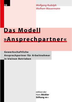 """Das Modell """"Ansprechpartner"""" von Rudolph,  Wolfgang, Wassermann,  Wolfram"""
