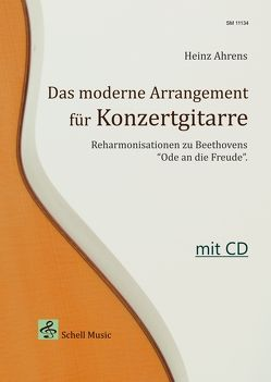 Das Moderne Arrangement für Konzertgitarre von Ahrens,  Heinz