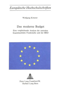 Das moderne Budget von Kitterer,  Wolfgang