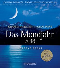 Das Mondjahr 2018 von Paungger,  Johanna, Poppe,  Thomas