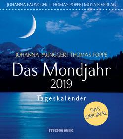 Das Mondjahr 2019 von Paungger,  Johanna, Poppe,  Thomas
