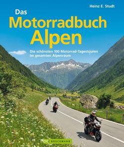Das Motorradbuch Alpen von Studt,  Heinz E.