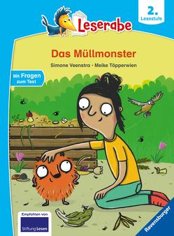 Das Müllmonster – Leserabe ab 2. Klasse – Erstlesebuch für Kinder ab 7 Jahren von Töpperwien,  Meike, Veenstra,  Simone