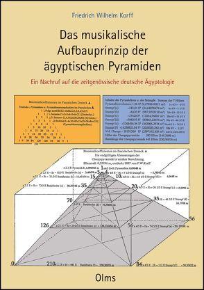 Das musikalische Aufbauprinzip der ägyptischen Pyramiden von Korff,  Friedrich Wilhelm