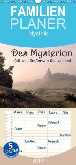 Das Mysterion – Kult- und Kraftorte in Deutschland – Familienplaner hoch (Wandkalender 2019 <strong>21 cm x 45 cm</strong> hoch) von Dombrow,  Charlie