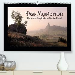 Das Mysterion – Kult- und Kraftorte in Deutschland (Premium, hochwertiger DIN A2 Wandkalender 2020, Kunstdruck in Hochglanz) von Dombrow,  Charlie