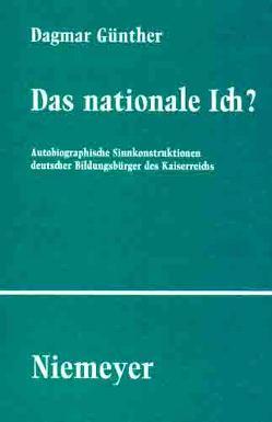 Das nationale Ich? von Günther,  Dagmar