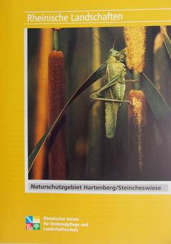 Das Naturschutzgebiet Hartenberg /Steincheswiese bei Molsberg im Westerwaldkreis von Braun,  Manfred, Braun,  Ursula, Wiemer,  Karl