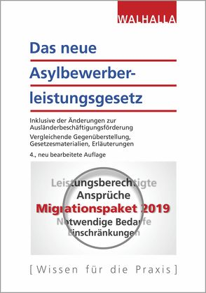 Das neue Asylbewerberleistungsgesetz von Lederer,  Anja, Walhalla Fachredaktion