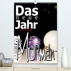 Das Neue Jahr mit Murmeln (Premium, hochwertiger DIN A2 Wandkalender 2020, Kunstdruck in Hochglanz) von Kolonko,  Patrick