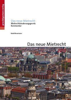 Das neue Mietrecht 2013 von Beuermann,  Rudolf