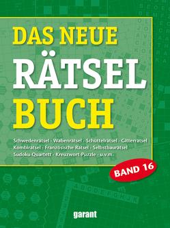 Das neue Rätselbuch Band 16 von garant Verlag GmbH