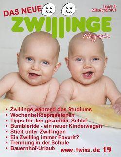 Das neue Zwillinge Magazin März/April 2016 von von Gratkowski,  Marion