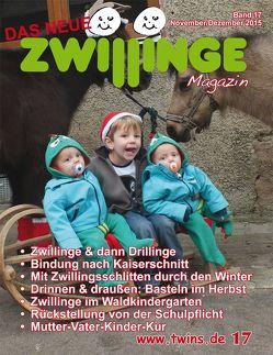 Das neue Zwillinge Magazin Nov./Dez. 2015 von von Gratkowski,  Marion