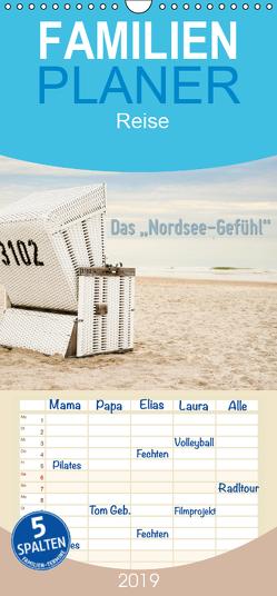 """Das """"Nordsee-Gefühl"""" – Familienplaner hoch (Wandkalender 2019 , 21 cm x 45 cm, hoch) von Wilken,  Ralf"""