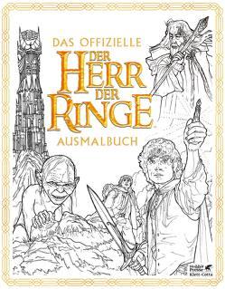 Das offizielle »Der Herr der Ringe«-Ausmalbuch von Caven,  N., Held,  Susanne, Tolkien,  J.R.R., Warner,  Warner
