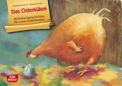 Das Osterküken. Kamishibai Bildkartenset. von Elschner,  Géraldine, Junge,  Alexandra