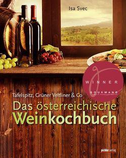 Das österreichische Weinkochbuch von Svec,  Isa