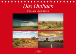 Das Outback – Weit. Rot. Australisch. (Tischkalender 2019 DIN A5 quer) von Wasilewski,  Martin