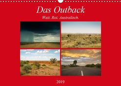Das Outback – Weit. Rot. Australisch. (Wandkalender 2019 DIN A3 quer) von Wasilewski,  Martin