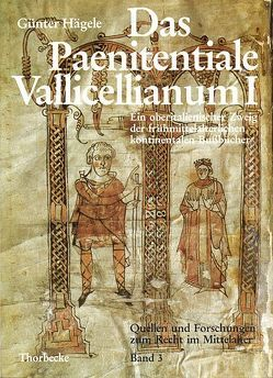 Das Paenitentiale Vallicellianum I von Hägele,  Gunter, Kottje,  Raymund, Mordek,  Hubert