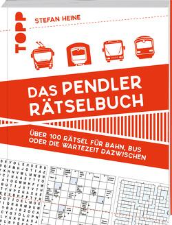 Das Pendler-Rätselbuch von Heine,  Stefan