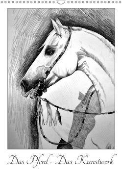 Das Pferd – Das Kunstwerk (Wandkalender 2019 DIN A3 hoch) von Kull - Pferdekullt,  Isabell