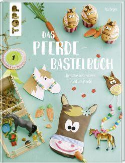 Das Pferde-Bastelbuch von Deges,  Pia