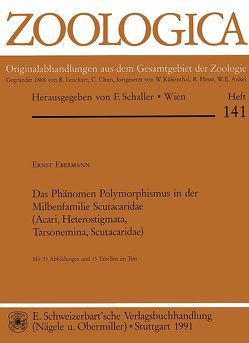 Das Phänomen Polymorphismus in der Milbenfamilie Scutacaridae (Acari, Heterostigmata, Tarsonemina, Scutacaridae) von Ebermann,  Ernst