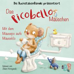 Das Picobello-Mäuschen – Mit dem Mäusepo aufs Mäuseklo von BuchstabenBande, Dormeyer,  Thea, Gstalter,  Angela, Horeyseck,  Julian