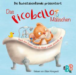 Das Picobello-Mäuschen – Nach dem Baden sieht die Maus wieder picobello aus von BuchstabenBande, Dormeyer,  Thea, Gstalter,  Angela, Horeyseck,  Julian