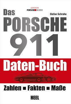 Das Porsche 911 Daten-Buch von Schrahe,  Stefan, Stefan Schrahe,  Stefan