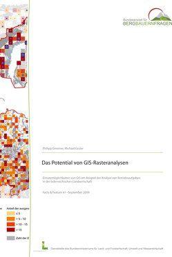 Das Potential von GIS-Rasteranalysen von Gmeiner,  Philipp, Groier,  Michael