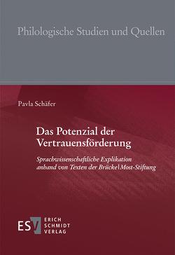 Das Potenzial der Vertrauensförderung von Schäfer,  Pavla