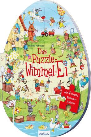 Das Puzzle-Wimmel-Ei von Korthues,  Barbara