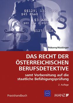 Das Recht der österreichischen Berufsdetektive von Pokorny,  Peter