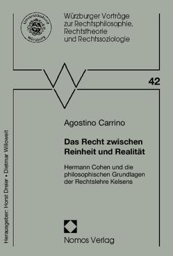 Das Recht zwischen Reinheit und Realität von Carrino,  Agostino