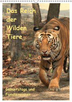 Das Reich der Wilden Tiere (Wandkalender 2019 DIN A3 hoch) von Brack,  Roland