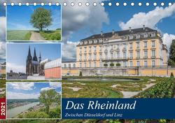 Das Rheinland – Zwischen Düsseldorf und Linz (Tischkalender 2021 DIN A5 quer) von Leonhardy,  Thomas