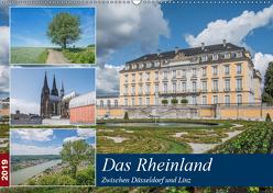 Das Rheinland – Zwischen Düsseldorf und Linz (Wandkalender 2019 DIN A2 quer) von Leonhardy,  Thomas
