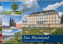 Das Rheinland – Zwischen Düsseldorf und Linz (Wandkalender 2021 DIN A3 quer) von Leonhardy,  Thomas